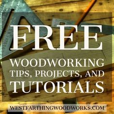 Over 500 articles filled with woodworking tips, tricks, and ideas that can help you make better projects. There are tutorials, tips/tricks, guitar making posts, and much much more. Come on over and enjoy. Happy building. #woodworkingtips