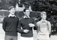 Elizabeth and Philip's three boys . Enjoying themselves: Prince Andrew aged Prince Charles aged and Prince Edward aged 15 enjoy a family holiday at Balmoral in 1979 Prince Andrew, Prince Edward, Prince Charles, Princesa Real, Princesa Diana, Elizabeth Philip, Queen Elizabeth Ii, Duchess Of York, Duke And Duchess