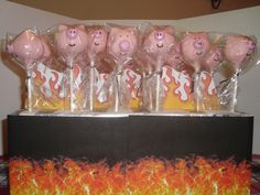 Cake pop idea....Pig roast pops