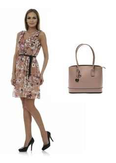 Outfit idea of today: Maya Zanotti nude-mix dress and Carla Ferreri handbag. Find it at: https://storebrandsvip.com/private-sales/134/offer/  & https://storebrandsvip.com/private-sales/132/offer/