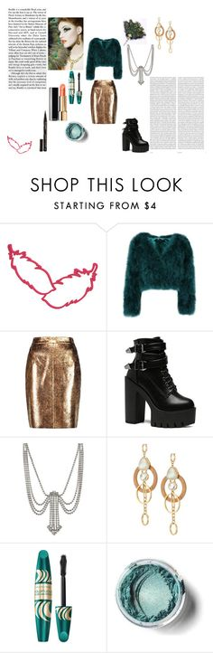 """Feather"" by wiki200 ❤ liked on Polyvore featuring Raoul, Masquerade, Marc Jacobs, Kate Spade, Max Factor, Smith & Cult and Oris"