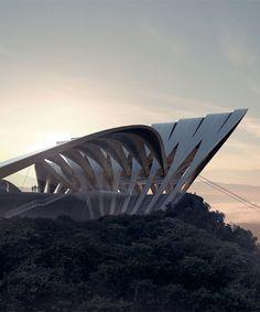 ZHA unbuilt: zaha hadid architects' unrealized, unpublished designs