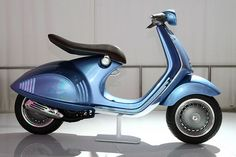 not a big fan of vespa's but this one is pretty cool