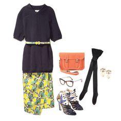 dcc13ed807f1 Love the orange bag and the Sarong Skirt Sarong Skirt