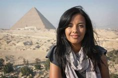 My Life In Travel: Liz Bonnin, TV presenter - News & Advice - Travel - The Independent She's A Woman, David Attenborough, New Readers, Tv Presenters, Mans World, Tv On The Radio, Womens Scarves, My Life, Hair Makeup