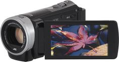 JVC GZEX355BUS 16GB HD Camcorder $229.99!