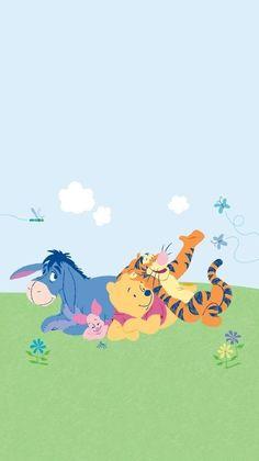 30 Ideas For Wallpaper Disney Cute Winnie The Pooh Eeyore Pictures, Winnie The Pooh Pictures, Cute Winnie The Pooh, Winne The Pooh, Iphone Background Disney, Disney Phone Wallpaper, Cartoon Wallpaper Iphone, Bear Wallpaper, Disney Love