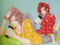 Anime Love, Anime Guys, Manga Anime, Anime Harem, Brothers Conflict, Ouran Highschool, Step Brothers, Diabolik Lovers, Magical Girl