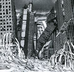 The Destruction of Neo Tokyo