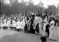 Festejos del día de la bandera 1920-1938