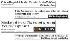 Daily Kos: Republicans put red state hospitals at risk