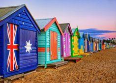 Bathing Cabanas - Brighton Beach