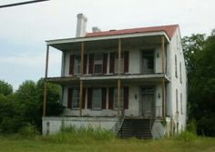 Goodale House Augusta Georgia built 1799..now abandoned