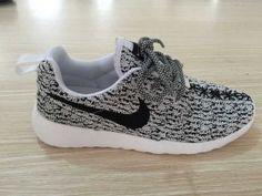 Nike Roshe One Yeezy Boost 350 Unisex Gray White Black | roshe one