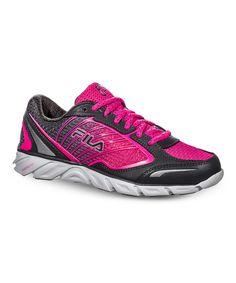 2b8e5188531d FILA Pink   Pewter FILA Fresh 3 Running Shoe - Women