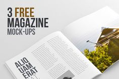 free magazine mockup template psd and premium print magazine templates presentation for your print design around best photorealistic brochure magazine cover psd Magazine Ads, Print Magazine, Free Magazines, Magazine Template, Psd Templates, Mockup, Web Design, Beirut Lebanon, Branding Ideas