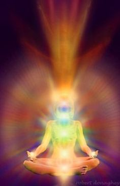 "Chakra balancing is one of the most important things to stay balanced, rooted, centered and healthy. Chakras are not anatomical organs which can be seen or touched. Chakras or the ""wheels"" o… Auras, Le Reiki, Kundalini Reiki, Les Chakras, Qi Gong, Mind Body Spirit, Spirit Soul, Spiritual Awakening, Kundalini Yoga"