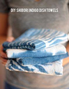 indigo shibori tutorial