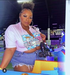 Thick Girls Outfits, Curvy Girl Outfits, Cute Casual Outfits, Plus Size Outfits, Fat Girl Fashion, Black Girl Fashion, Curvy Fashion, Teen Fashion, Plus Size Fashionista