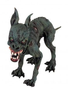 Scary Outdoor Halloween Decorations | Scary Zombie Rubber Dog Halloween Outdoor Prop Tabletop Decoration New ...