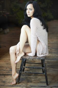 Ksenia Solo from Lost Girl - she's hilarious AND stunning