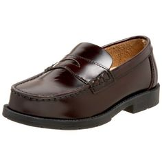 Academie Little Kid/Big Kid Josh Penny Loafer,Burgundy,13 W US Little Kid Academie. $33.08. leather. Rubber sole. Made in China