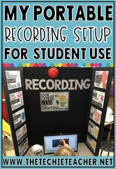 My Portable Recording Setup for Student Use When Recording in the Classroom