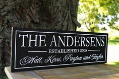 Personalized Wedding Anniversary Gift Family by SugarCreekLane, $38.95