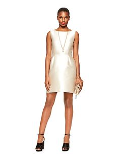 flirty back mini dress - kate spade new york