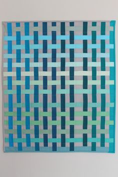 Simply beautifully pieced quilt by Megan of Jaffa Quilts.