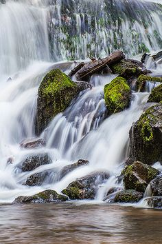 Indian Creek Falls - Great Smokey Mountains - North Carolina