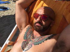 Owl, beard & sun