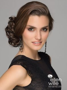 ellen-wille-pp-gin1_2 Updos, Hair Styles, Gin, Up Dos, Hair Plait Styles, Hair Makeup, Hairdos, Haircut Styles, Party Hairstyles
