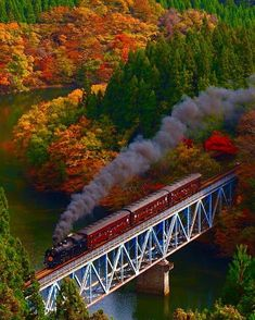 Hakone -tozen JAPAN #railway #train #training #beautiful #colour #nice #rain #best #colour #bridge #amazing #love #japan #fotografia #foto #photooftheday #photography (Hakone Tozan Train)