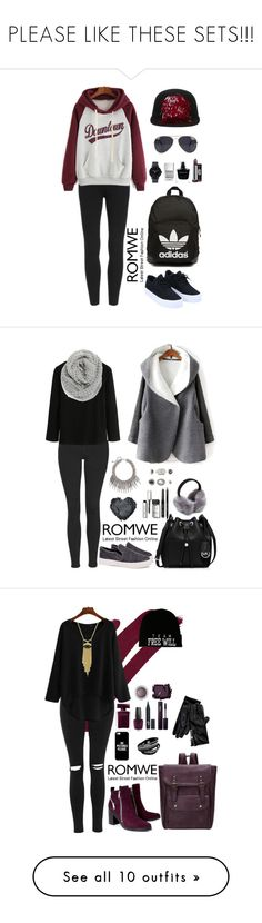 """""""PLEASE LIKE THESE SETS!!!"""" by amra-f ❤ liked on Polyvore featuring Lanvin, NLY Accessories, adidas Originals, The Horse, Narciso Rodriguez, women's clothing, women, female, woman and misses"""