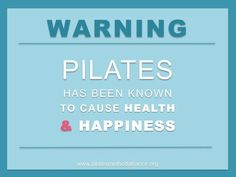 Do it for health and happiness!