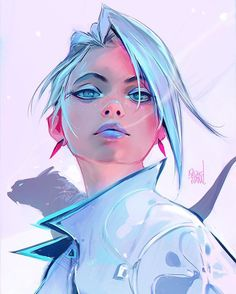 "24.2k Likes, 122 Comments - Ross Tran (@rossdraws) on Instagram: ""First art piece of 2017! I've been moving into a new place, so I'm sorry for the inactivity  My…"""