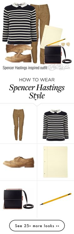 """Spencer Hastings inspired outfit/PLL"" by tvdsarahmichele on Polyvore"