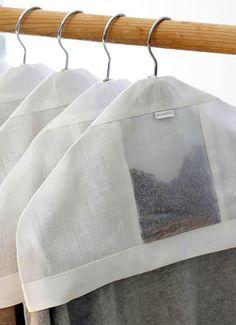 lavender filled hanger cover