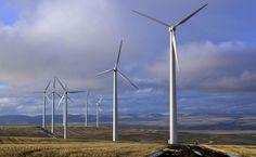 Wind farm HD Wallpaper