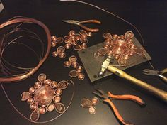 Copper Bra  Metal Bra  Belly Dance Costume Bra  Goddess Bra