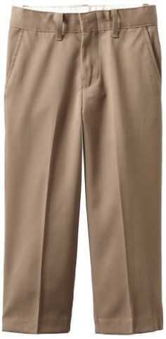 63d2b5dd6fd6 Perry Ellis Little Boys Dress Pant Taupe 5 -- Learn more by visiting the  image