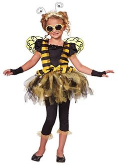 California Costumes Sunny Honey Bee Costume, One Color, 6-8 -- Click on the image for additional details.