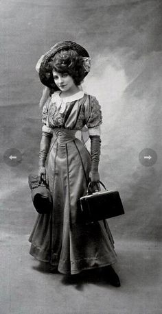The 16-Inch Waist Of Émilie Marie Bouchaud. While I would not want to tight-waist to this extreme, I am drawn to her dresses in pics 4 and 5.