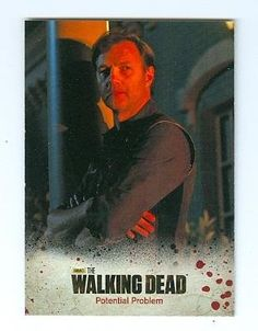 The Walking Dead Trading Card Woodbury Season 3 2014 #12 The Governor David Morrissey at Amazon's Entertainment Collectibles Store