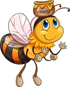78f83effb Bee Clipart, Hives And Honey, Pottery Painting, Tole Painting, Buzz Bee,