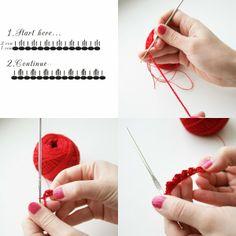 Tutorial Crochet: Tutorial Crochet: Orecchini Facili Fatti all'Uncinetto