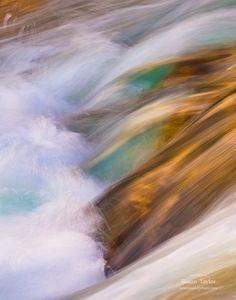 Wave Home Decor, Glacier Print, Nautical Mountain Photo, Dreamy Art, Abstract Art, Gold Aqua Canvas Art, Nautical Photo, Large Wall Art by SusanTaylorPhoto on Etsy