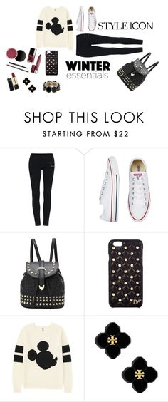"""Poppy's Sparkling Winter⭐︎"" by rxbx4 on Polyvore featuring Diane Von Furstenberg, Uniqlo, Tory Burch and Valentino"