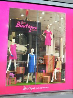 59118a3943a42 The Boutique Gallery window. Jaeger London. Regent street windows Boutique  Window Displays
